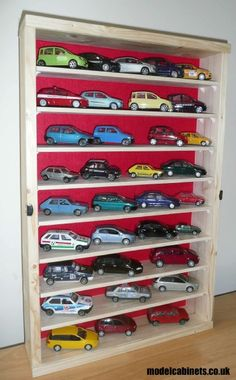 model car display cabinet for Paul's Buragos