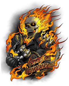 More Marvel work. I got to do this Ghost Rider piece for Marvel last year. More Marvel work. I got to do this Ghost Rider piece for Marvel last year. This was one of the most fun projects on Ghost Rider Kostüm, Ghost Rider Tattoo, Ghost Rider Marvel, Ghost Ghost, Chibi Marvel, Marvel Art, Marvel Heroes, Marvel Characters, Ghost Rider Wallpaper