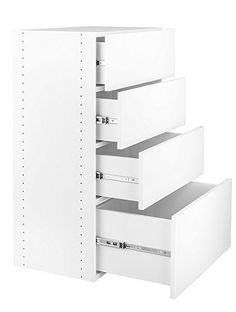 ESTATE By RSI 9.5 Ft X 3 Ft White Wood Closet Kit | Closet | Pinterest |  White Wood, Woods And Storage Closets