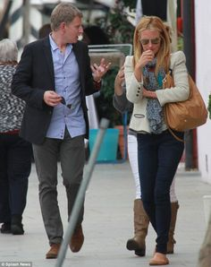 Cat Deeley and Patrick Kielty honeymoon in Italy... but downplay romance with a distinct lack of PDA | Mail Online