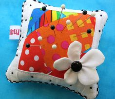 2012 Pincushion w/ Flower by mamacjt, via Flickr