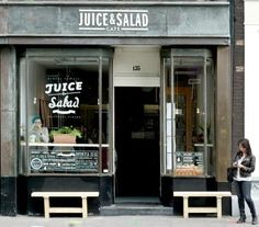 Juice & Salad, lunch   Vijzelstraat 135   Amsterdam