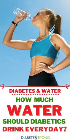 Diabetes and Water Guide. Staying hydrated is important for everyone. As people with diabetes, drinking enough water is especially crucial. This article will explain how dehydration affects blood sugar levels, how much water we should drink each day, who should limit their water intake, and what else you can drink if you don't want to just drink plain water. #diabetes #bloodsugar #diabetestips #managingdiabetes #dehydration #diabetesstrong