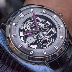 Tourbillon Minute Repeater action by the Christophe Claret Soprano.