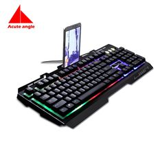 27.50$  Watch now - http://alipt3.shopchina.info/1/go.php?t=32799368945 - Replace Keyboard Gold  104 Keys Metal Led Light Gaming Gamer Game Usb Multimedia  Waterproof For Computer PC Desktop Keyboard  #buyonlinewebsite