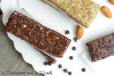 I am so excited to have Sara from A Teaspoon and A Pinch guest-posting today. I am thrilled that she is sharing her recipes for homemade Lara Bars with us! Please take a minute to check out some of her other delicious REAL FOOD recipes on her website. Hi there!  I'm Sara from A Teaspoon ...