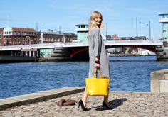 With her Louis Vuitton Neverfull in hand, on her shoulder or on her bike, Marie Hindkær from Blame it on Fashion shares her favorite Copenhagen sights and secrets... (via http://blameitonfashion.freshnet.se)