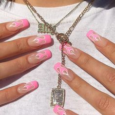 Acrylic Nails Coffin Short, Simple Acrylic Nails, Summer Acrylic Nails, Best Acrylic Nails, Coffin Nails, Summer Nails, Simple Nails, Spring Nails, Baby Pink Nails Acrylic