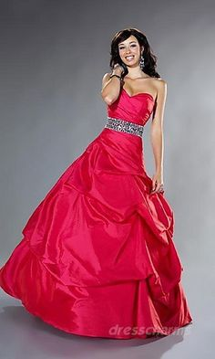 Jaden's senior prom dress (but red... not hot pink O_O)