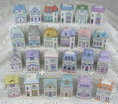 1989 Vintage Lenox China The Spice Village 24 Individual Porcelain Jars U Choose   eBay