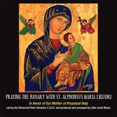 Praying the Rosary With St. Alphonsus Maria Liguori (2 audio CDs) is the first rosary CD to feature the music of a saint and the first CD produced in the United States to feature the music of St. Alphonsus Liguori. Dedicated to Our Mother of Perpetual Help, this CD also features the brilliant arrangements of Ray Herrmann, a Grammy award-winning musician. http://www.liguori.org/productdetails.cfm?PC=11300