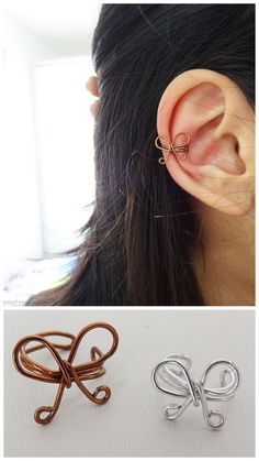 Awh, this actually doesnt look weird on your actual ear either, and i thought it would, but its just really cute
