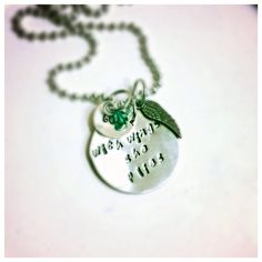 With Wings She Flies Necklace- Whether it is from High School or College, this personalized piece makes a perfect graduation gift! It can be made