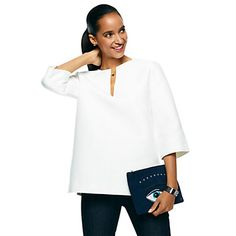 Just fell in love with the Twill Top for $128 on C. Wonder! Click on the image and receive 20% off your next full-price purchase and find something you love too!