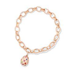 Fabergé Treillage Multi-coloured Rose Gold Charm #Fabergé