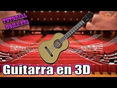 ♥ Tutorial: Guitarra en 3D Goma Eva (Foamy) ♥ - YouTube