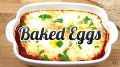 Super Simple Baked Eggs - Recipe