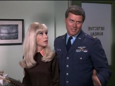 I Dream of Jeannie (1965) Barbara Eden as Jeanie and Larry Hagman as Major Tony Nelson