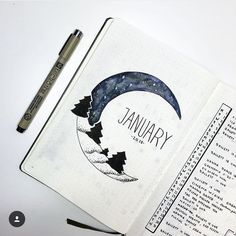 Bullet journal ideas, art journal inspiration bullet journal ideas pages, carnet bullet journal, Art Journal Pages, Art Journal Challenge, Art Journal Prompts, Journal Themes, Journal Ideas, Art Journals, Bullet Journal Layout Ideas, Journal Covers, January Bullet Journal