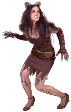 Disfraz de Wolfa Mujer Lobo adulto