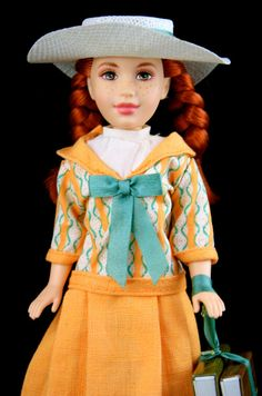 Vintage Anne of Green Gables when I Read I - I have this doll, and her books and hat..but certainly not mint. :P