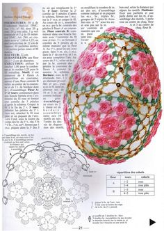 Crochet Egg Cover