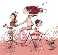 Buen Dibujo de Bicicleta