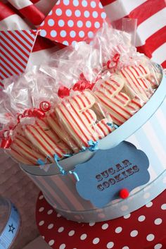 Vintage Carnival Birthday Party Ideas | Photo 1 of 94 | Catch My Party