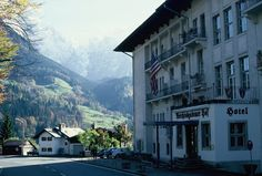 General Walker Hotel in Berchtesgaden Germany.  Spent the weekend here for a whitewater rafting trip
