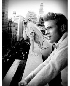 James Dean & Marilyn Monroe