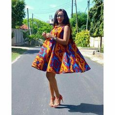 Take a look at these super stylish ankara styles for pregnant women and your wardrobe will never lack fashionable African print outfits. African Print Dresses, African Dresses For Women, African Attire, African Wear, African Fashion Dresses, African Women, African Prints, Ankara Fashion, African Style