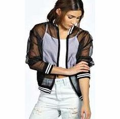 boohoo Alma Sheer Bomber Jacket - black azz26014 Dare to be different in this fashion-forward bomber jacket , featuring sporty trims and a statement see through main. Team it with a triangle bralet , high rise silky joggers and Perspex heels . http://www.comparestoreprices.co.uk/womens-clothes/boohoo-alma-sheer-bomber-jacket--black-azz26014.asp