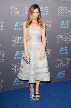 Leslie Mann in Reem Acra. Photo: Alberto E. Rodriguez/Getty Images for Critics' Choice Movie Awards 2015