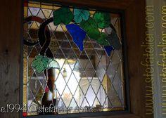 vitrail vigne