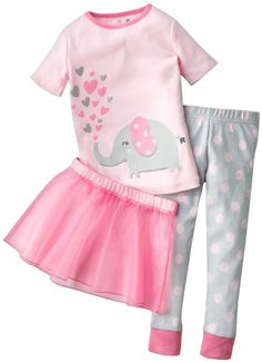 4cae888c735e1a Jumping Beans at Kohl's - Shop our wide selection of girls' clothes,  including this Jumping Beans Elephant Tutu Pajama Set, at Kohl's.