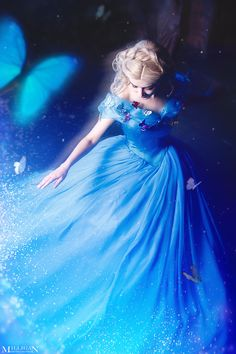 Cinderella - A little magic by MilliganVick.deviantart.com on @DeviantArt - Uploaded by the photographer