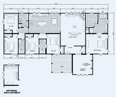Quadruple wide mobile home floor plans 5 bedroom 3 for 6 bedroom manufactured home floor plan