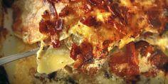 Her er oppskriften. Heston Blumenthal, Lasagna, Crockpot, Bacon, Recipies, Dinner Recipes, Homemade, Ethnic Recipes, Food