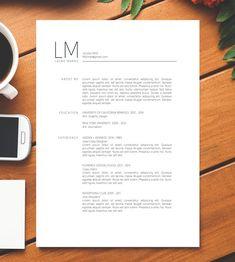 Lebenslauf Vorlage + CV | Anschreiben | Referenzen | Für MS Word | Mac / PC…
