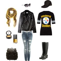 steeler nation, created by jtown-cmxiv on Polyvore