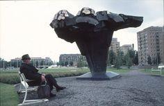 Terho Sakki. pronze skulpture Kalevala . photo Eero Paso