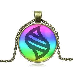 Fine or Fashion: Fashion Pendant Size: 27 x 27mm Necklace Type: Pendant Necklaces Material: Glass, Zinc Alloy Chain Type: Link Chain Chain Length: 50cm Model: Mega Stone