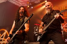 anthrax on stage