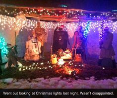 This is the greatest nativity scene ever