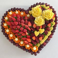 Fruit Decorations, Acai Bowl, Food And Drink, Carving, Dishes, Breakfast, Hair Looks, Food, Gifts