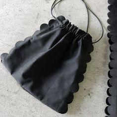 Diy Fashion, Fashion Bags, Japanese Bag, Potli Bags, Diy Handbag, Fabric Bags, Little Bag, Pouch Bag, Zipper Bags