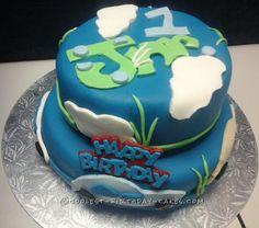 1st Birthday Cloud Cake... Coolest Birthday Cake Ideas