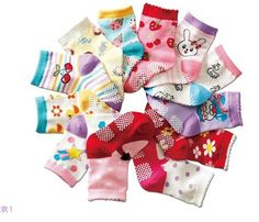 Free shipping ( 12 pairs/lot ) 100% cotton Baby socks rubber slip-resistant floor socks all for kids clothes and accessories1--3