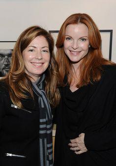 Dana Delany & Marcia Cross