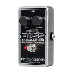Electro-Harmonix Bass Preacher Pedal